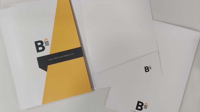 Carpetas de presentación para tu empresa